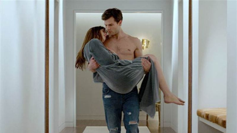 Illustration for article titled Fifty Shades Of Grey is already Fandango's fastest-selling R-rated movie ever