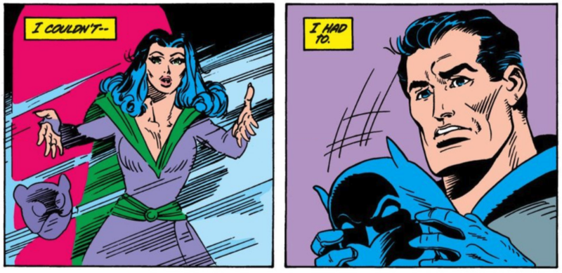 Batman reveals his identity to Catwoman in a classic story from 1983.