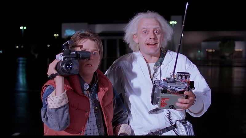Illustration for article titled AMC is airing a  Back To The Future marathon on Sunday