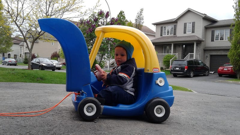 Illustration for article titled Part Deux: Final details about the Lambo door Cozy Coupe