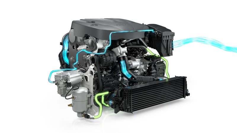 Illustration for article titled Volvo's Clever PowerPulse Technology Aims To End Turbo Lag Forever