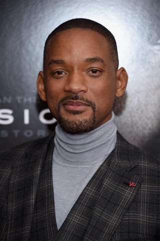 Will Smith attends the New York premiere for Concussion Dec. 16, 2015.Dimitrios Kambouris/Getty Images
