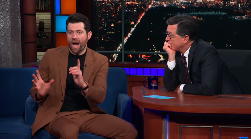 Billy Eichner, Stephen Colbert