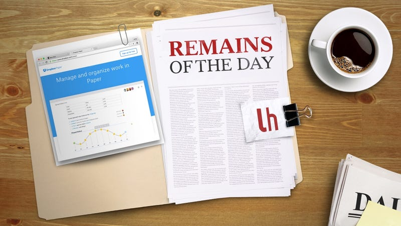 Illustration for article titled Remains of the Day: Paper by Dropbox Launches Globally
