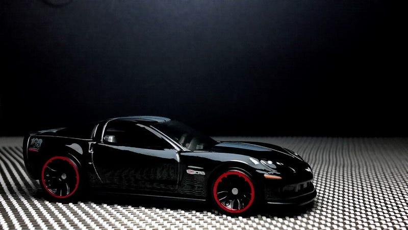 Illustration for article titled A black Corvette