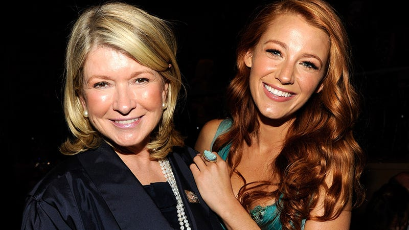 Illustration for article titled At Last, Martha Stewart Weighs in on Blake Lively's Lifestyle Blog