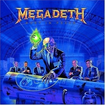 """Illustration for article titled Megadeth's """"Rust In Peace"""" Hits Rock Band Store Next Week"""