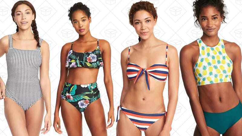 7ae63a9b1b5c8 All Of Old Navy's Swimwear is 50% Off, Today Only