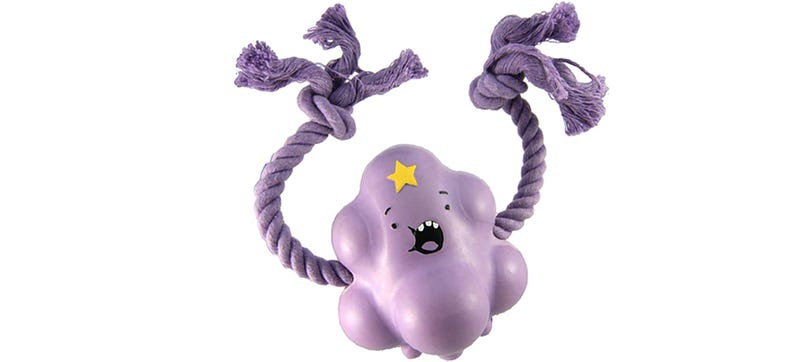 Illustration for article titled Sorry, Brad, This Lumpy Space Princess Chew Toy Is For Dogs Only