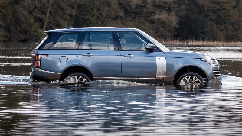 Illustration for article titled 2019 Range Rovers Will Be Easier to Drive in Water