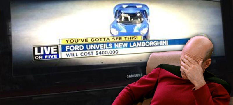 Illustration for article titled Ford Unveils New Lamborghini