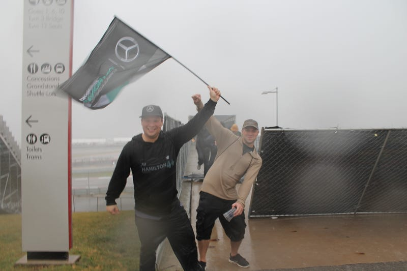 Illustration for article titled True Fans Don't Grab An Umbrella, They Grab A Battle Flag
