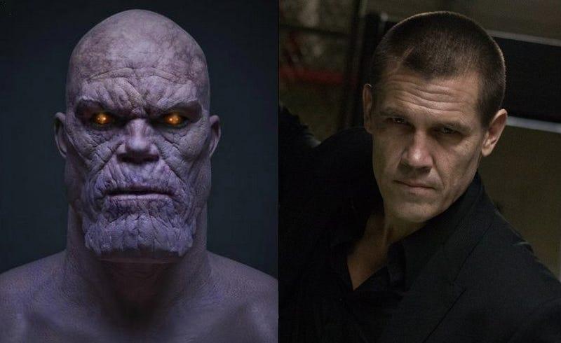 Illustration for article titled Josh Brolin será el actor detrás de Thanos, el villano de The Avengers