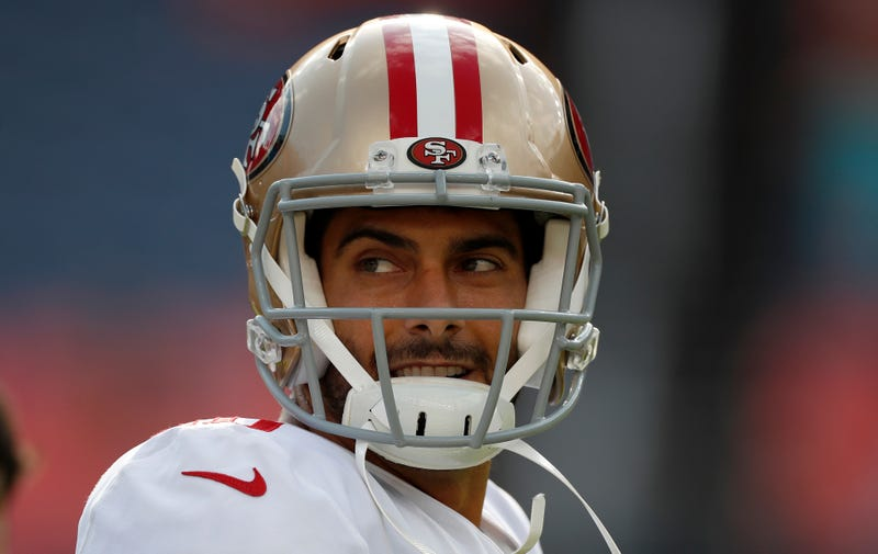Illustration for article titled Jimmy Garoppolo's Return Was Pretty Miserable
