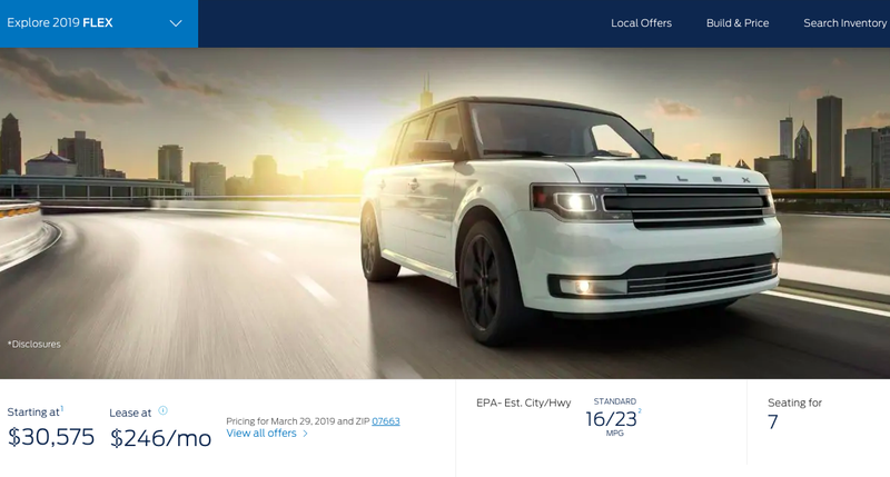 Illustration for article titled It Has Come to My Attention That the Ford Flex Is Still on Sale