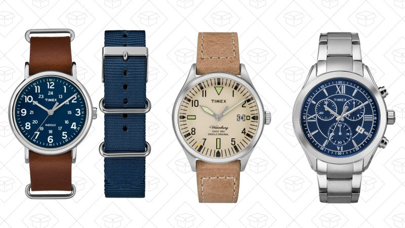 Extra 25% off sale watches for men and women | Timex | Use code WATCH25