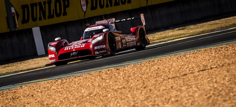 Illustration for article titled What's With The Slow Pace On The Nissan GT-R LM Nismos At Le Mans?