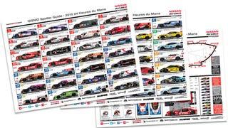 Illustration for article titled Know Your 24 Hours Of Le Mans Cars With This Handy Spotter Guide