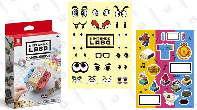 Packs de Nintendo Labo | $8 | AmazonGráfico: Shep McAllister