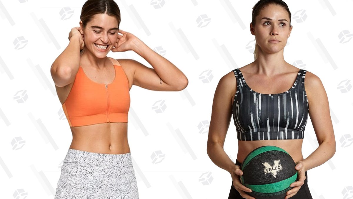 10 Great Sports Bras for Active Women