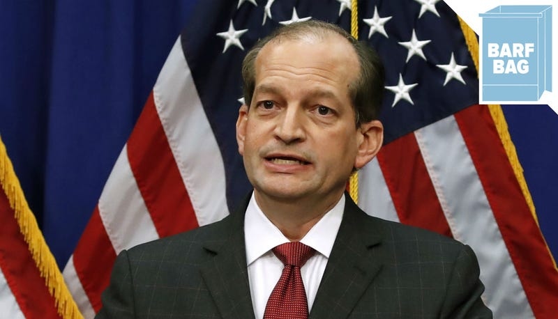 Illustration for article titled Alex Acosta Thinks 2008 Was a Very, Very Long Time Ago