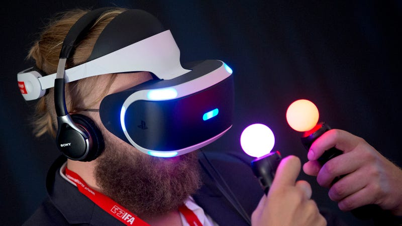 Illustration for article titled PlayStation VR Will Launch In Fall 2016, Says Mouthy CEO