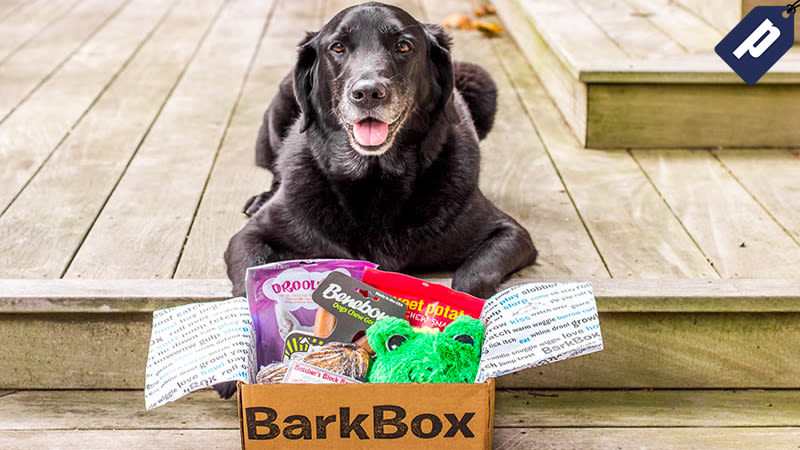 Illustration for article titled Share Monthly Toys and Treats with Your Dog from BarkBox (One Month Free)