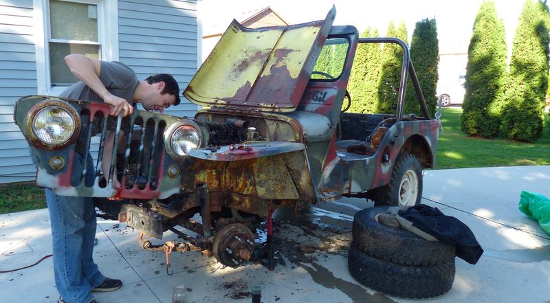 Aquí está lo que el interior de un motor de Jeep de segunda guerra ...