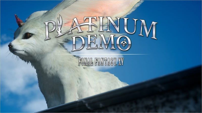 Illustration for article titled Platinum Demo: Final Fantasy XV Impressions
