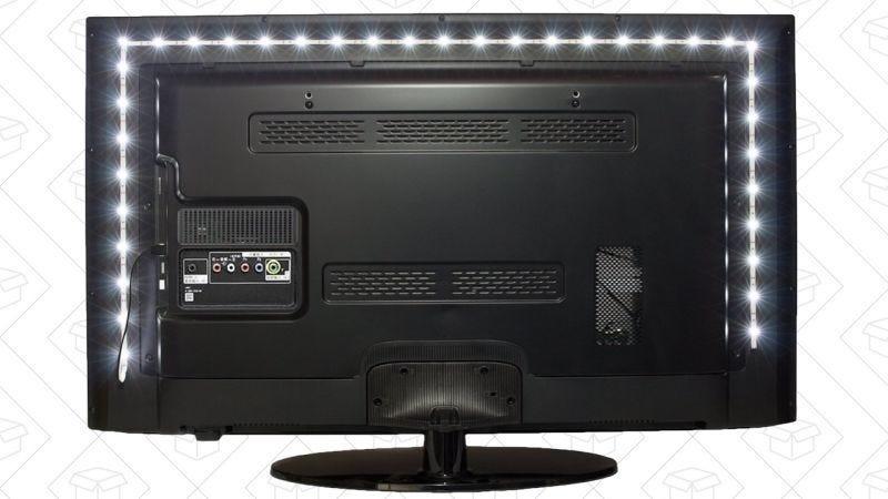 Luz blanca de Vansky, $11 con código CCT8XE05 | Luces RGB de Vansky, $13 con código CCT8XE05 | Luz blanca de 80'', $13 con código WOA5L6NA | 80'' RGB, $16 con código WOA5L6NA