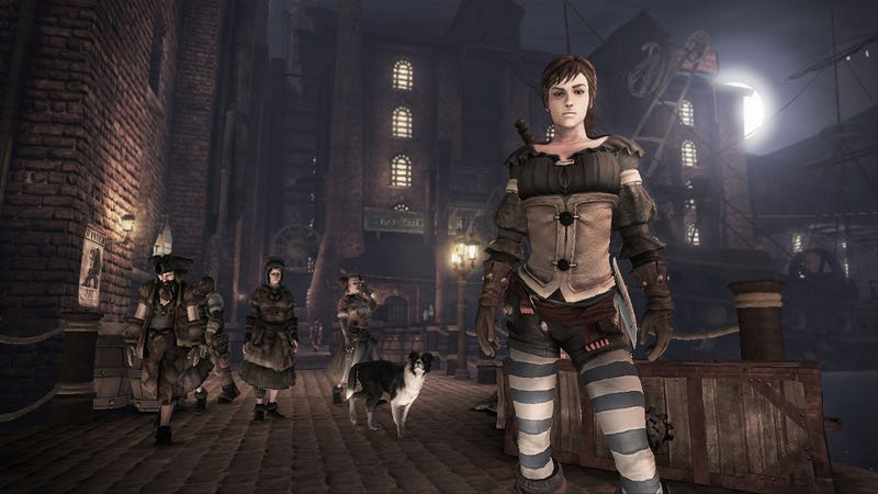 Illustration for article titled It's Ladies Night In These Fable III Screenshots