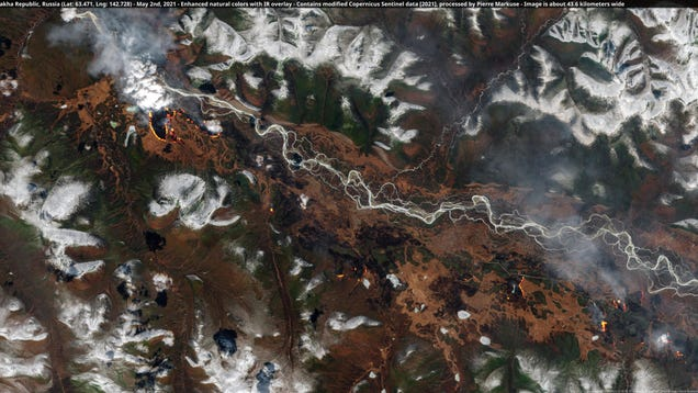 Siberia Is on Fire—and It's Only May