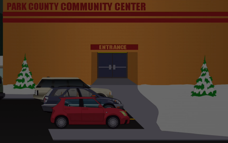 Illustration for article titled South Park Car Easter Egg