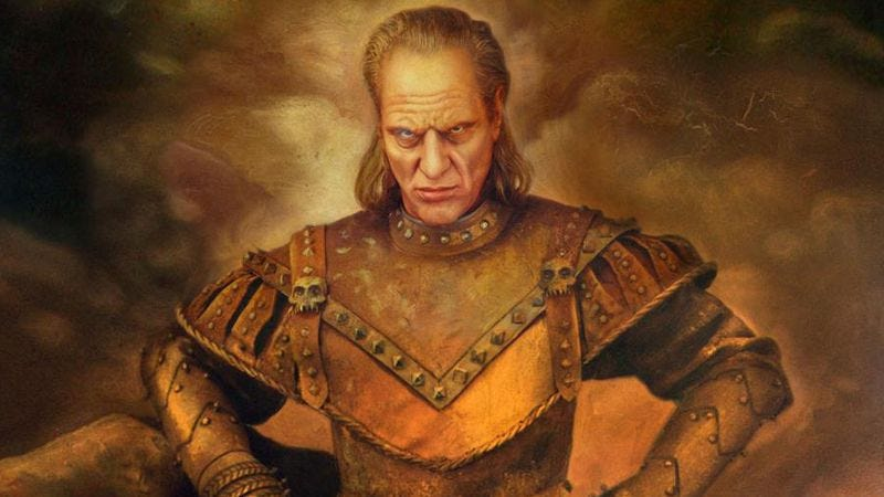Illustration for article titled Read This: Ghostbusters II's Vigo The Carpathian was a real son of a bitch