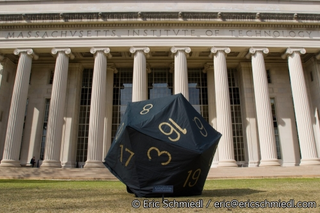 Illustration for article titled MIT Students Create Giant 20-Sided Die In Honor of Gary Gygax