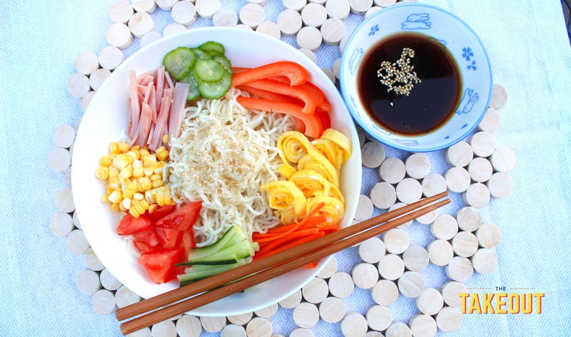 Say hiya to Hiyashi Chuka, the Japanese cold noodle dish made for summer