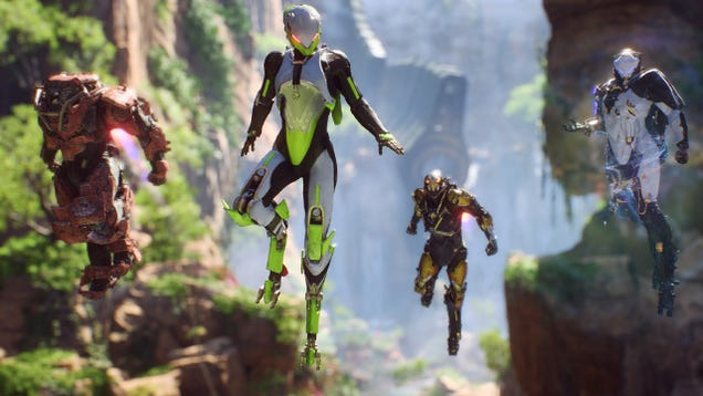 Pre-order Anthem for PS4 or Xbox One, Get a $10 Gift Card