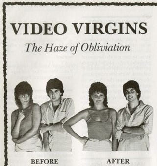 Illustration for article titled Video Virgins: Before And After Video Games
