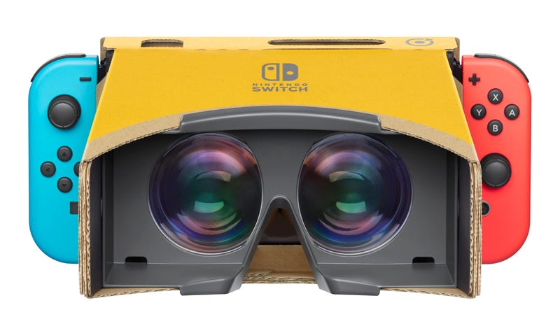 Illustration for article titled Mario Odyssey, Breath Of The Wild Will Support Labo VR