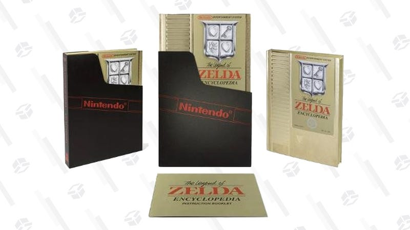 Legend of Zelda Encyclopedia Deluxe Edition | $31 | Amazon | Promo code NOVBOOK18
