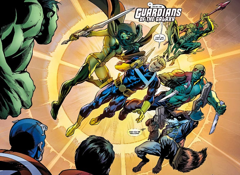 Illustration for article titled Guardians of the Galaxy and the Infinity Stones: Who's What Now?