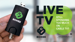 Illustration for article titled Boxee's New Live TV Dongle Gives You Another Reason to Ditch Cable