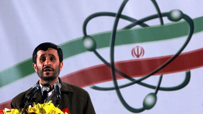 Iran's New Uranium Production Facility: Because the Rest of the World Wasn't Pissed Off Enough Yet