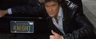 Illustration for article titled Knight Rider Racing Towards Hoff