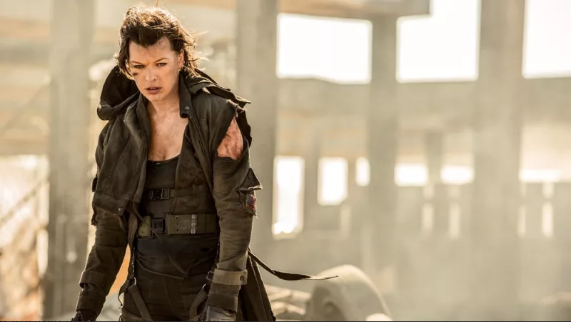 Milla Jovovich in Resident Evil: The Final Chapter.