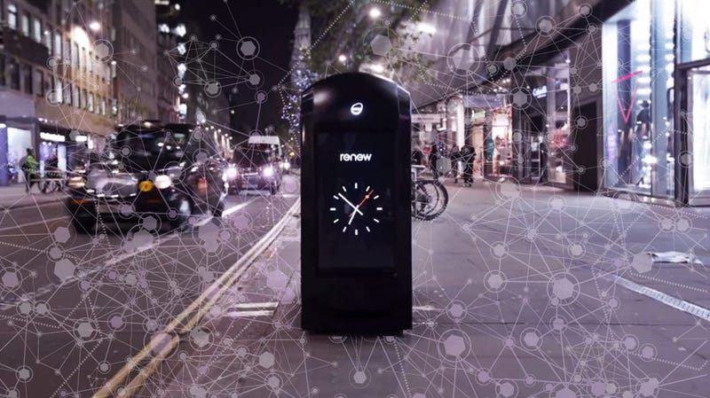 """Illustration for article titled London's Shutting Down Those Creepy, Phone-Tracking """"Smart"""" Trash Cans"""