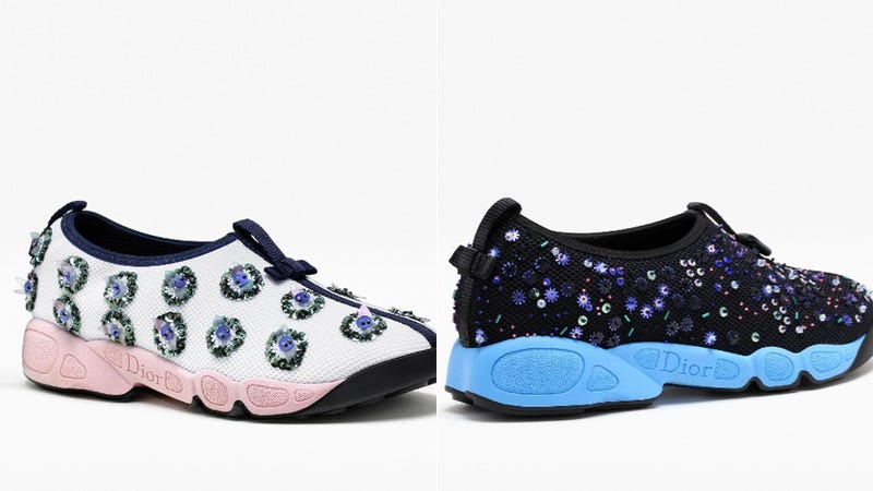 Illustration for article titled People Are Allegedly Buying Dior's Hideous $1,100 Sneakers
