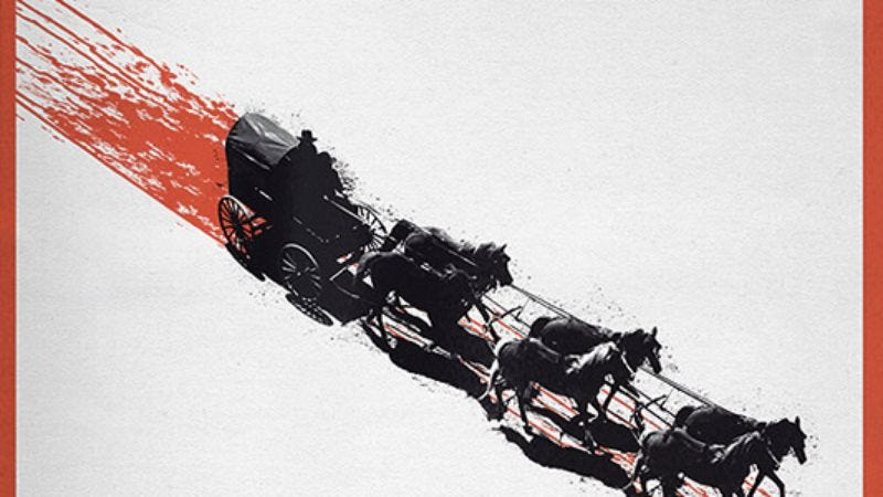 Illustration for article titled The Hateful Eight has an official poster, is definitely real