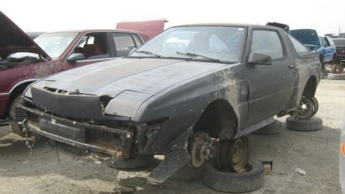 Dodge Conquest Because You Cant Repeat The Word Turbo Too Many Times Mitsubishi Starion
