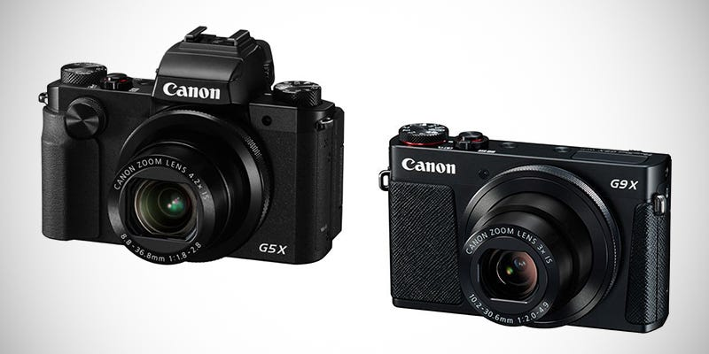 Illustration for article titled Canon G9X and G5X: Two Killer Cameras For Every Pocket Size